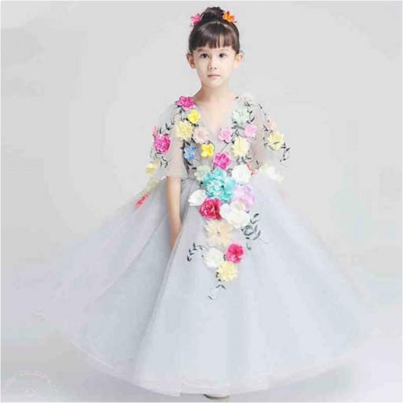 glamorous birthday dresses for kids