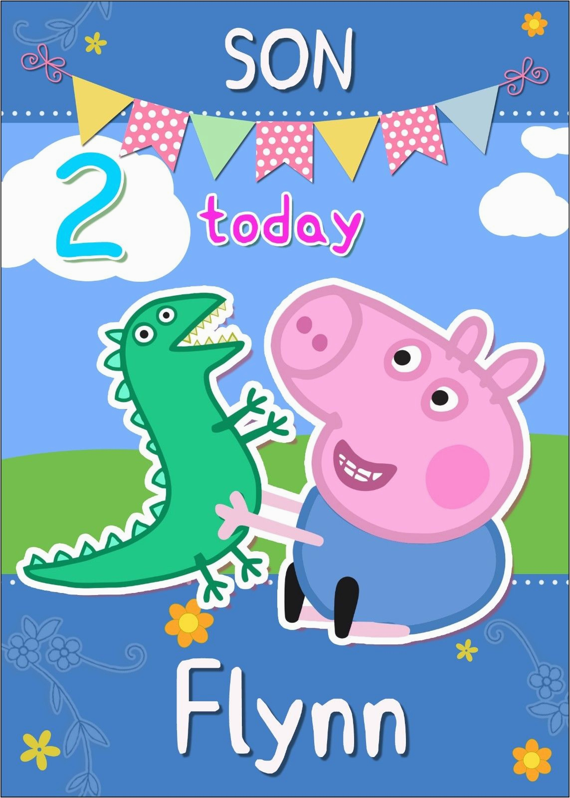 custom singing birthday cards funny collection peppa pig card star wars party ideas for adults best