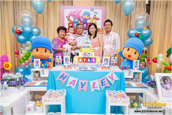 1 Year Old Birthday Party Decorations Baby 39 S One Celebration Pocoyo Theme