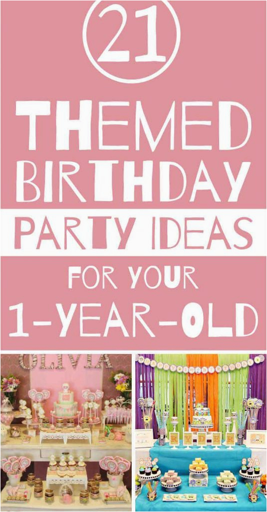1 Year Old Birthday Party Decorations First Themes