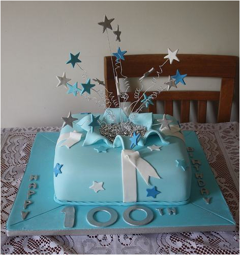100th Birthday Party Ideas Decorations Cake A