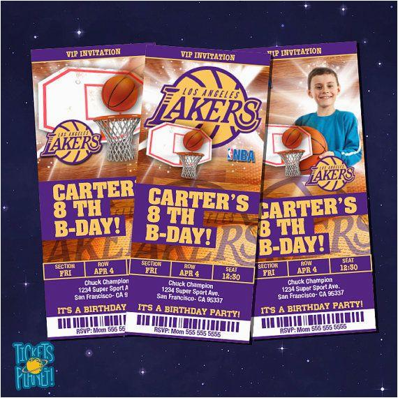 basketball tickets invitation