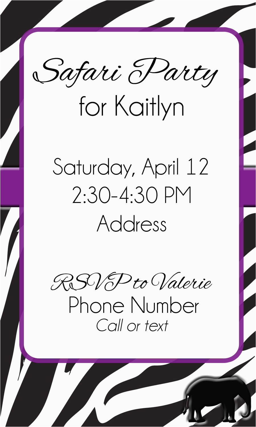12 Year Old Birthday Party Invitations Invitation Librarry