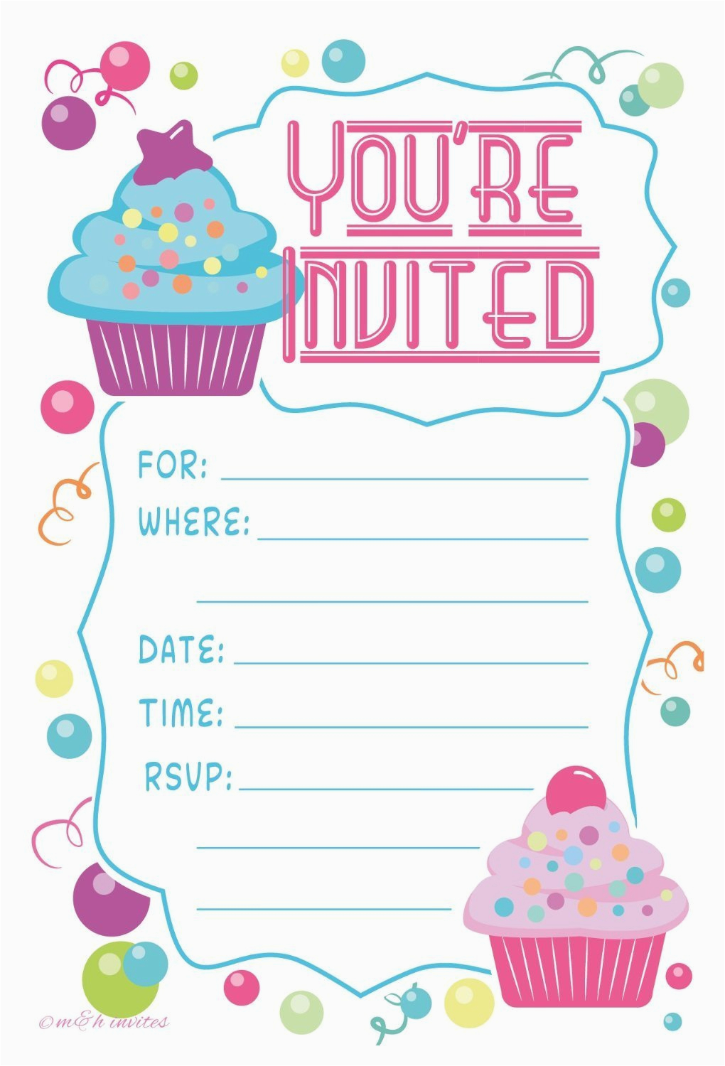 12 Year Old Birthday Party Invitations Birthday Party Invitations
