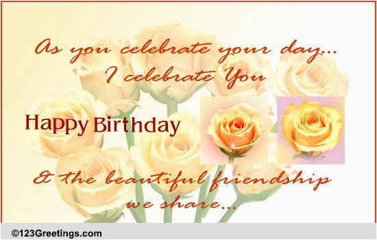 123greetings Birthday Cards For Friend For A Special Friend Free For