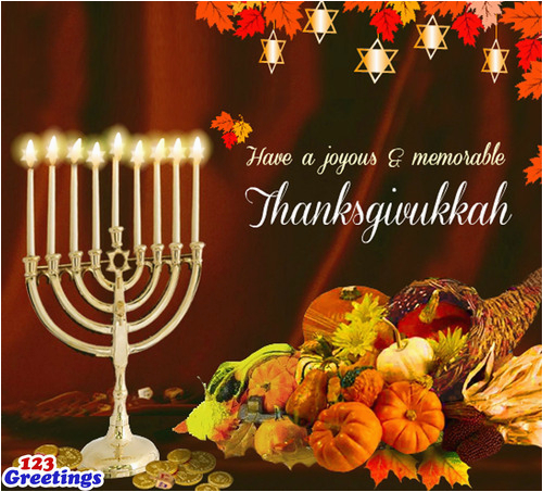 rare ecards for a rare occurrence thanksgivukkah ecards from 123greetingscom 233426931