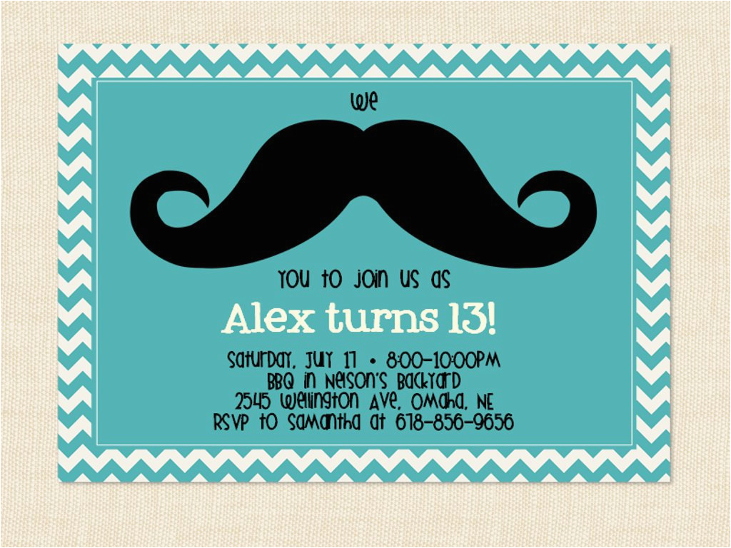 13 Year Old Birthday Party Invitations 13 Years Old Birthday Party Invitations Free Invitation