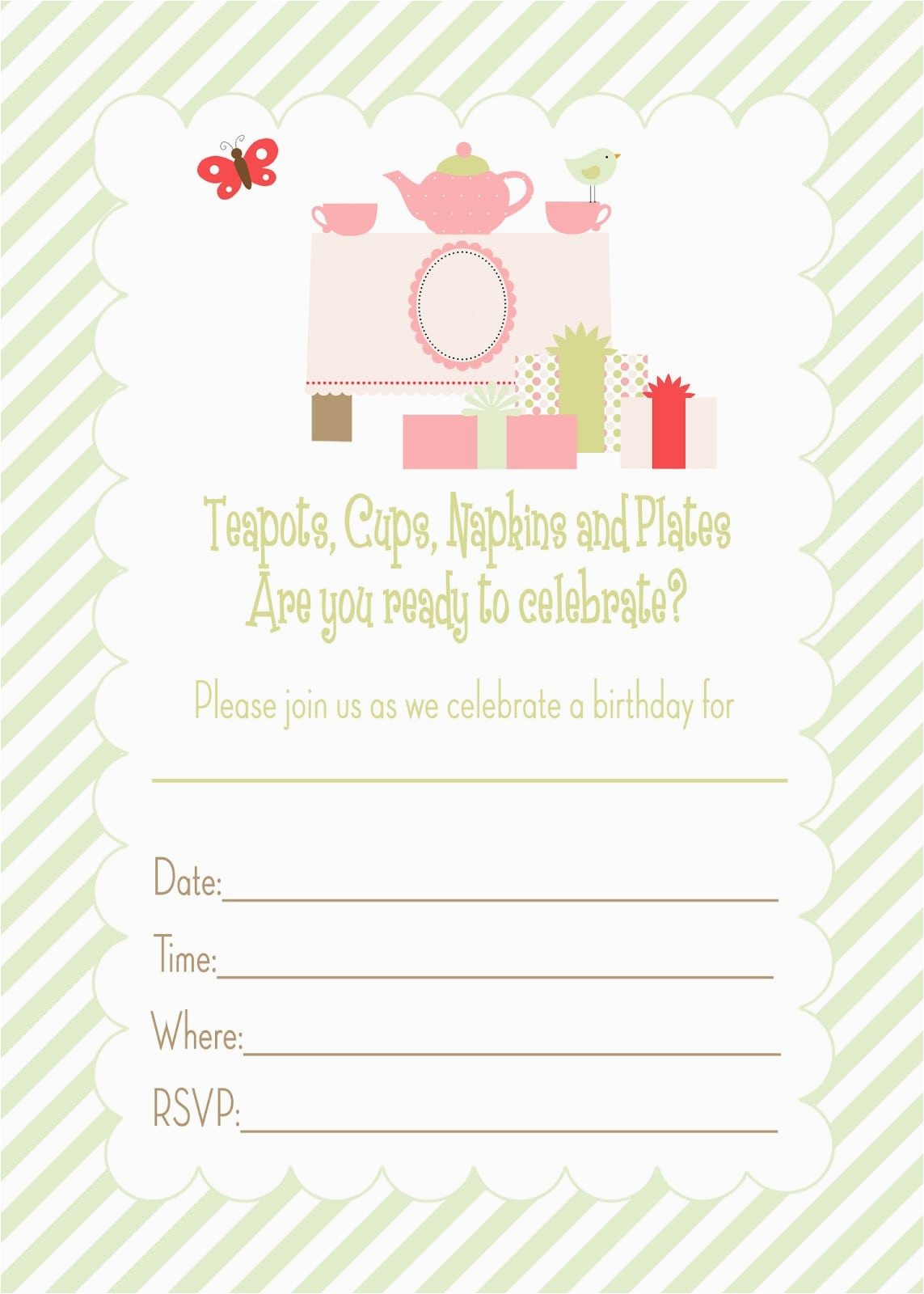 13 Year Old Birthday Party Invitations Invitation Template