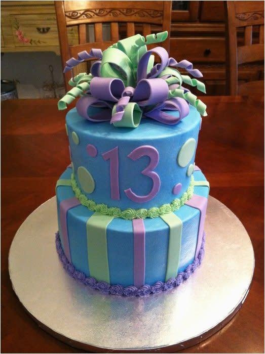 105202 13th birthday cake