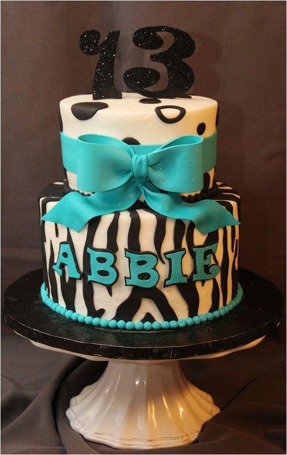 13th birthday cake decorations