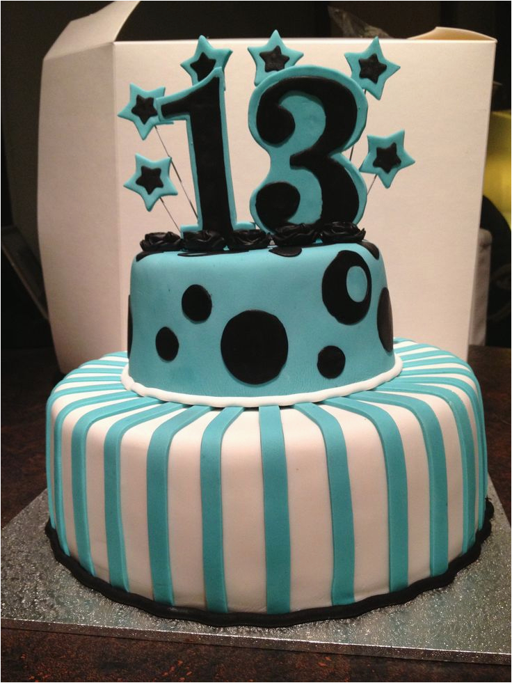 13th Birthday Cakes 5 Most Suited Styles For Teen Boys And Girls