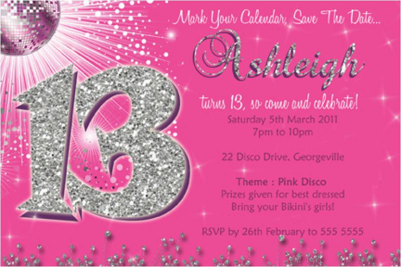free 13th birthday invitation template orderecigsjuice info