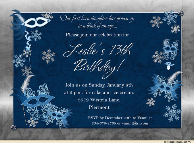 13th Birthday Invitation Wording Ideas Party Cimvitation