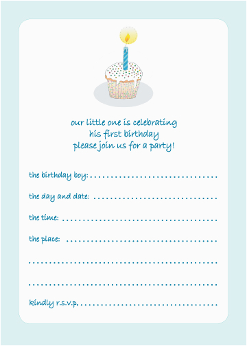 15 Year Old Birthday Invitations 10 Childrens Party 1 Boy