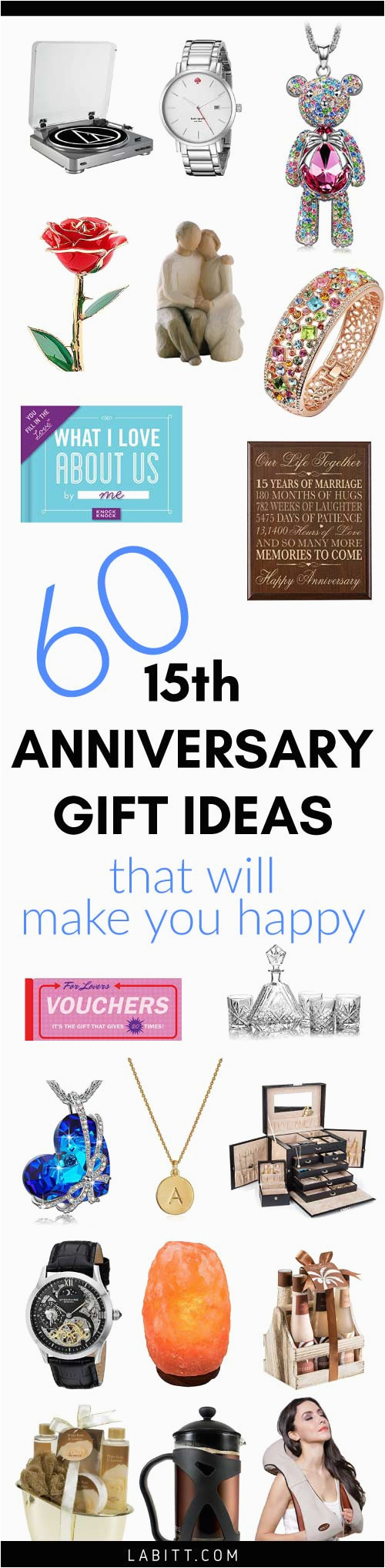 15th Birthday Gift Ideas For Her Crystal Wedding Anniversary