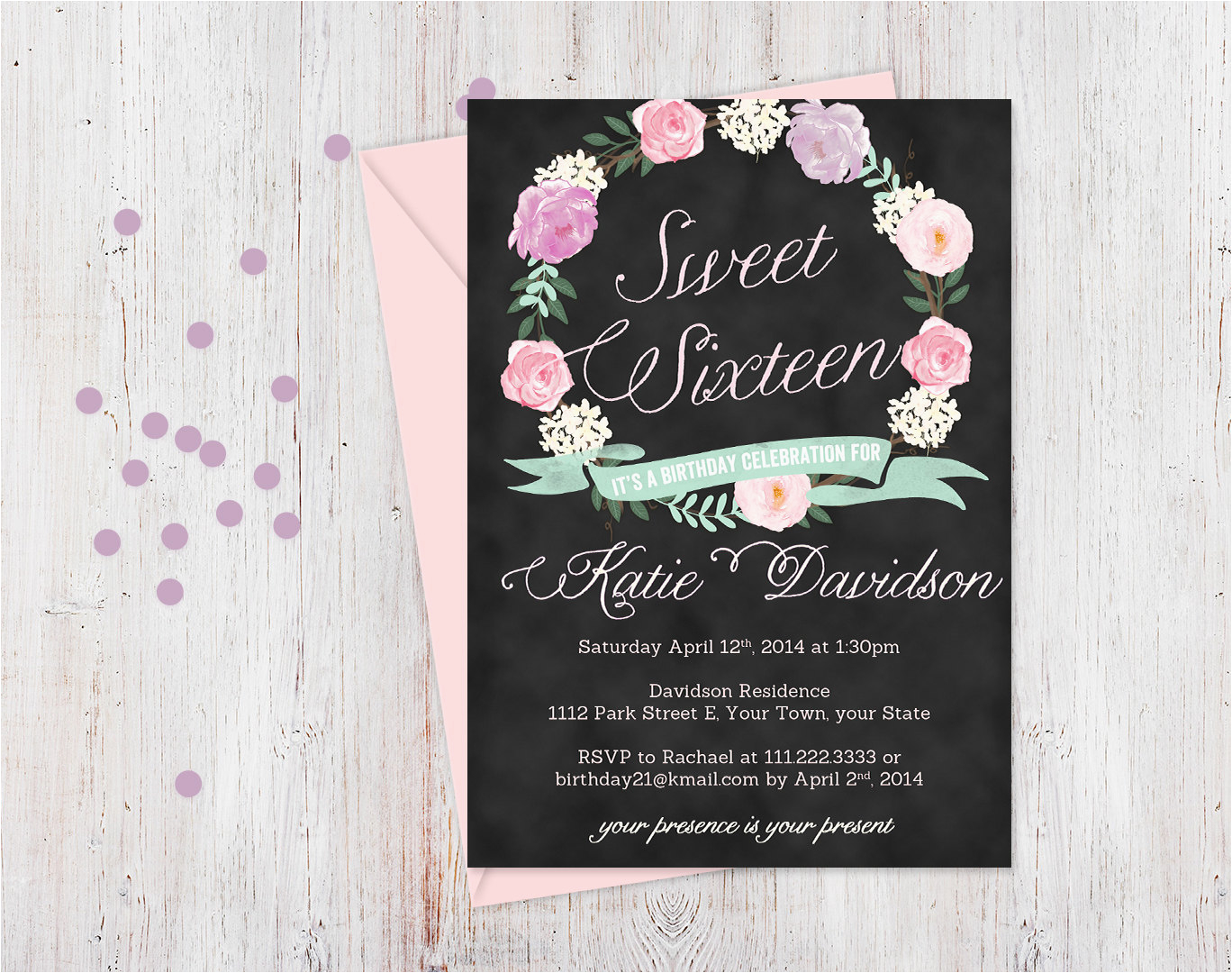 16 Birthday Invitation Wording 16th Invitations Templates Ideas First