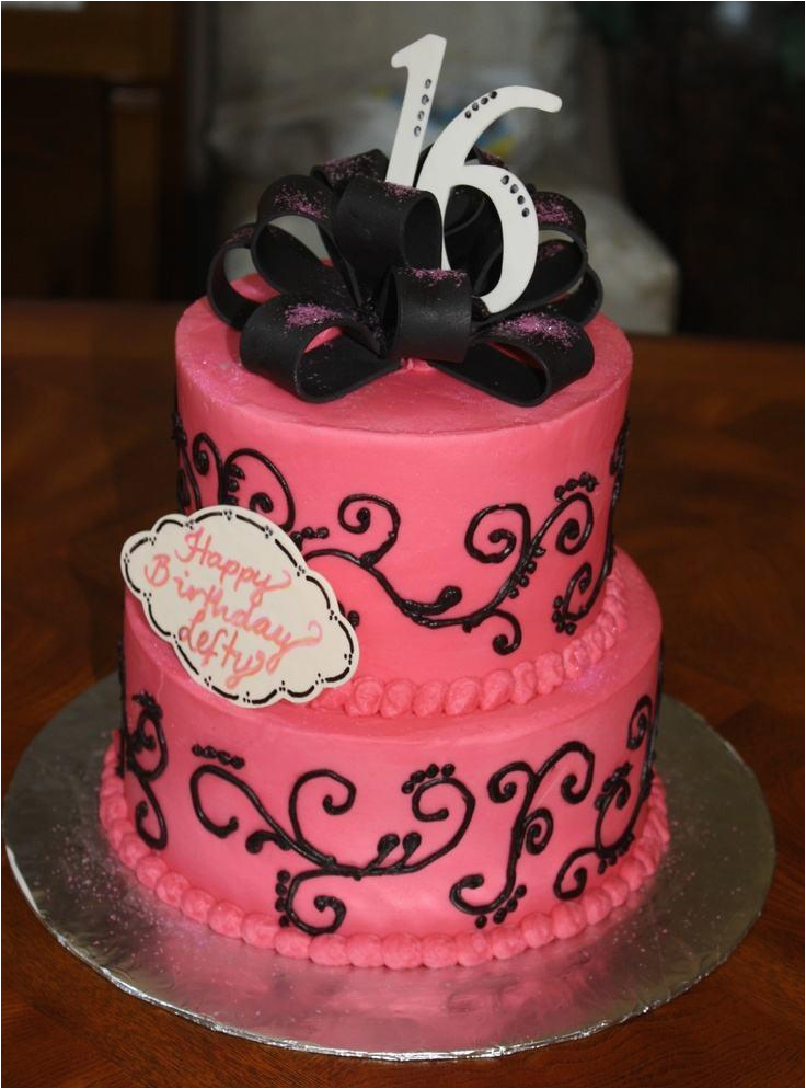 16th birthday cake ideas