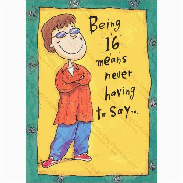 16th Birthday Card Boy wholesale Bulk Dropshipper 16th Birthday Card for Boy