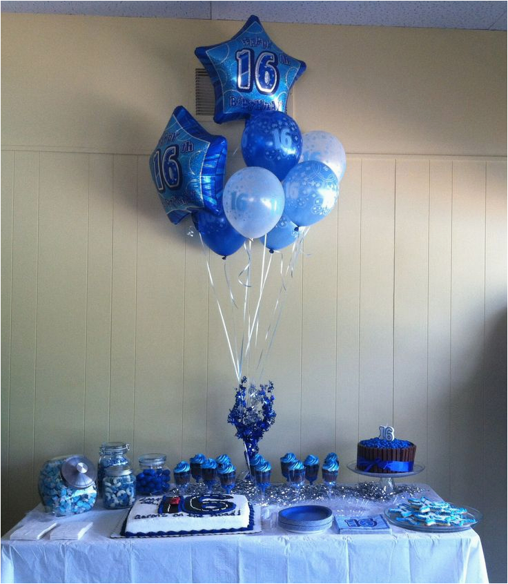 ideas for aarons 16th birthday