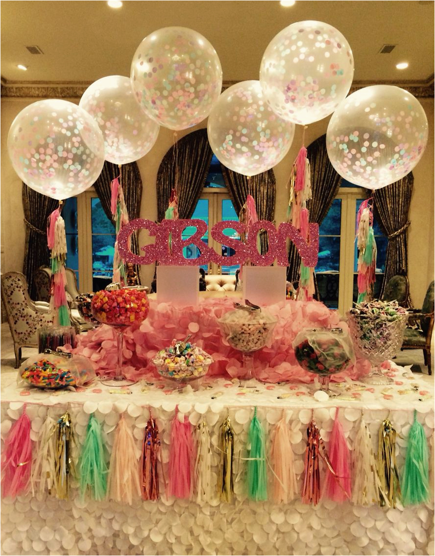 93 Sweet 16 Birthday Table Decorations