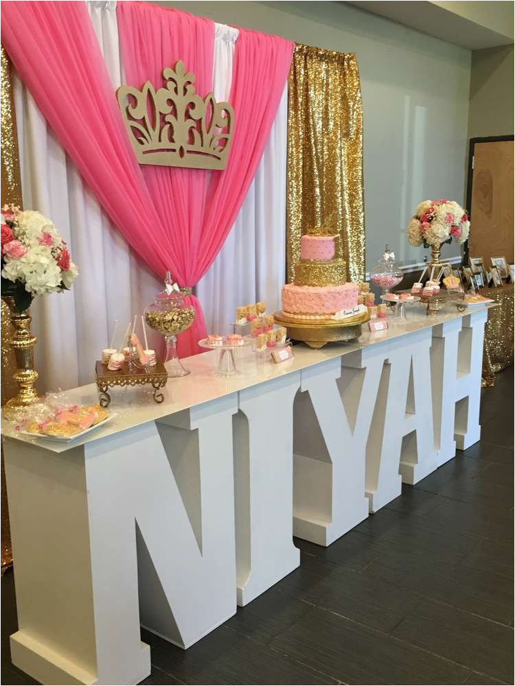 16th Birthday Table Decorations Princess Party Ideas