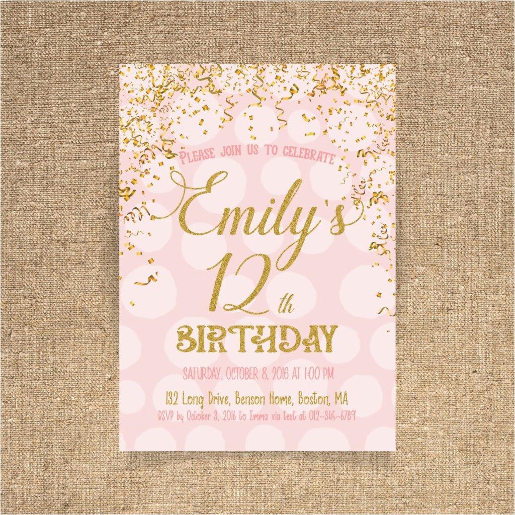 17th birthday party invitations