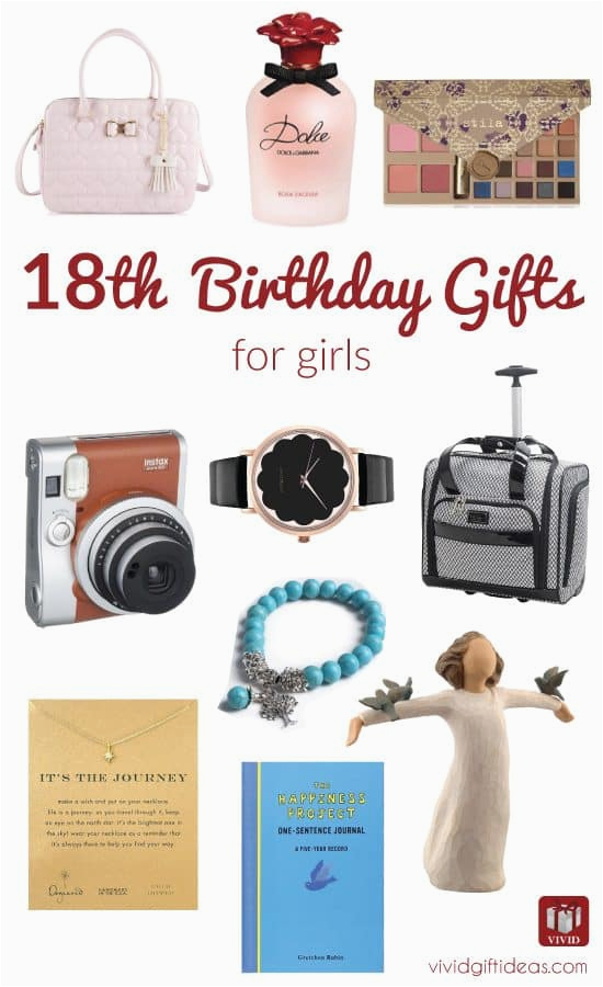best 18th birthday gifts for girls vivid 39 s