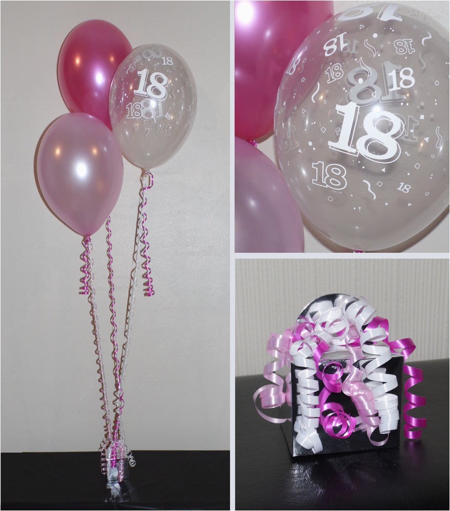18 Birthday Party Decoration Ideas 18th Balloons Diy Kit Clusters
