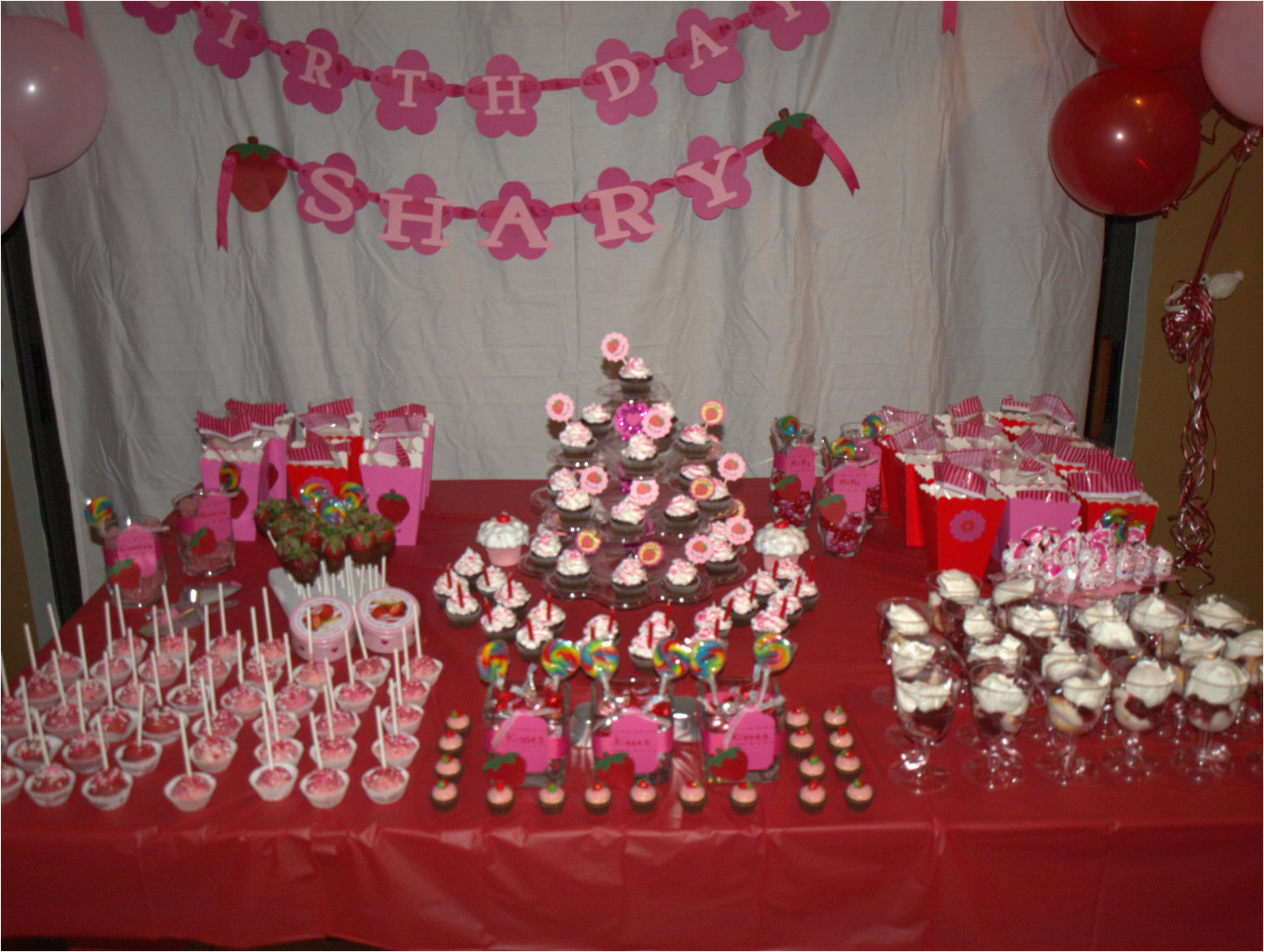 18 Birthday Party Decoration Ideas 18th Decorations Favors