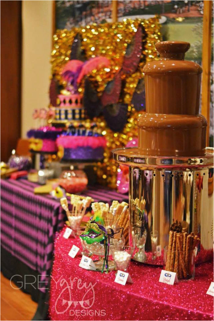 18 Birthday Party Decoration Ideas Kara 39 S Masquerade