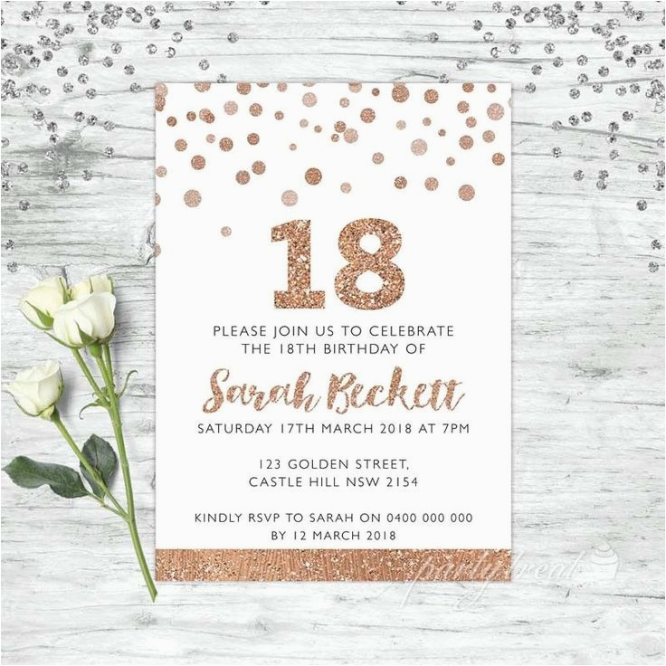 18 Year Old Birthday Party Invitations 7906 Best Ideas Themes Images