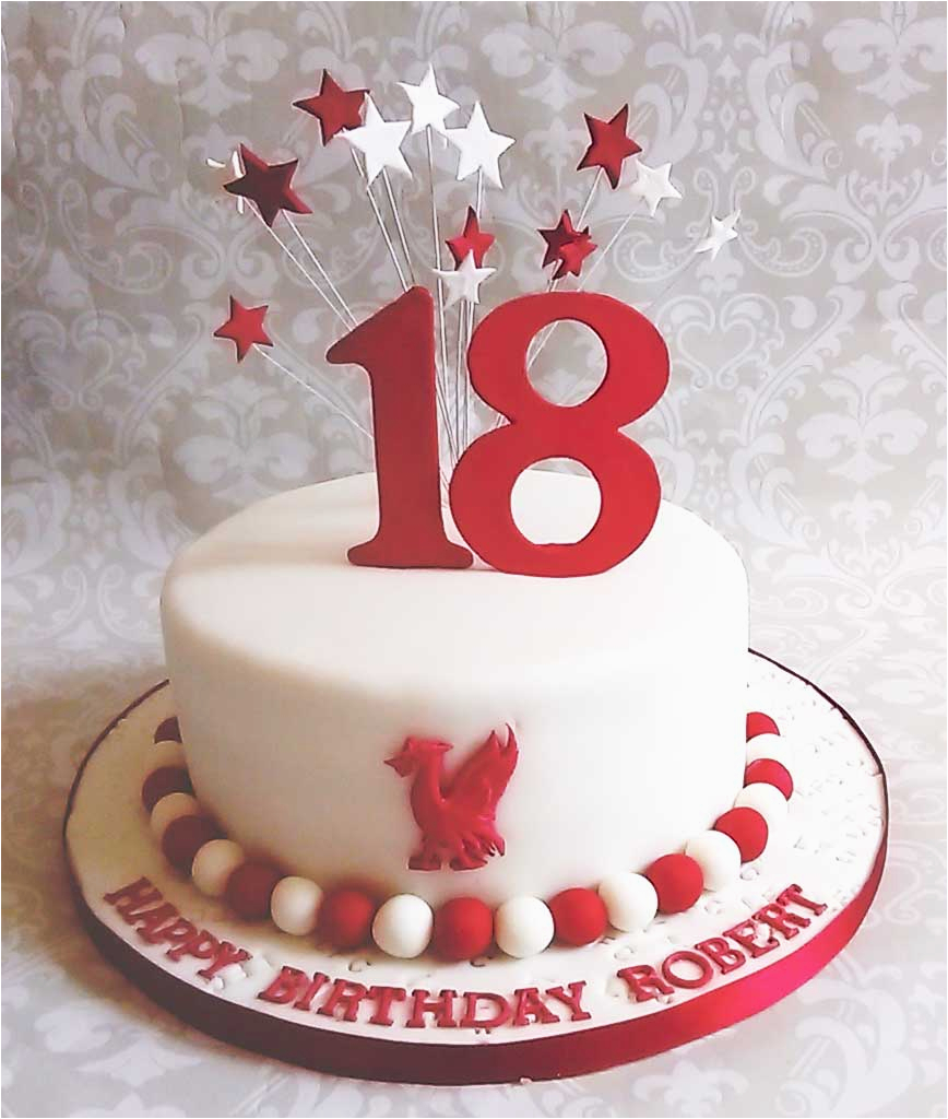 18th Birthday Cake Decorations Uk Cakes The Commission