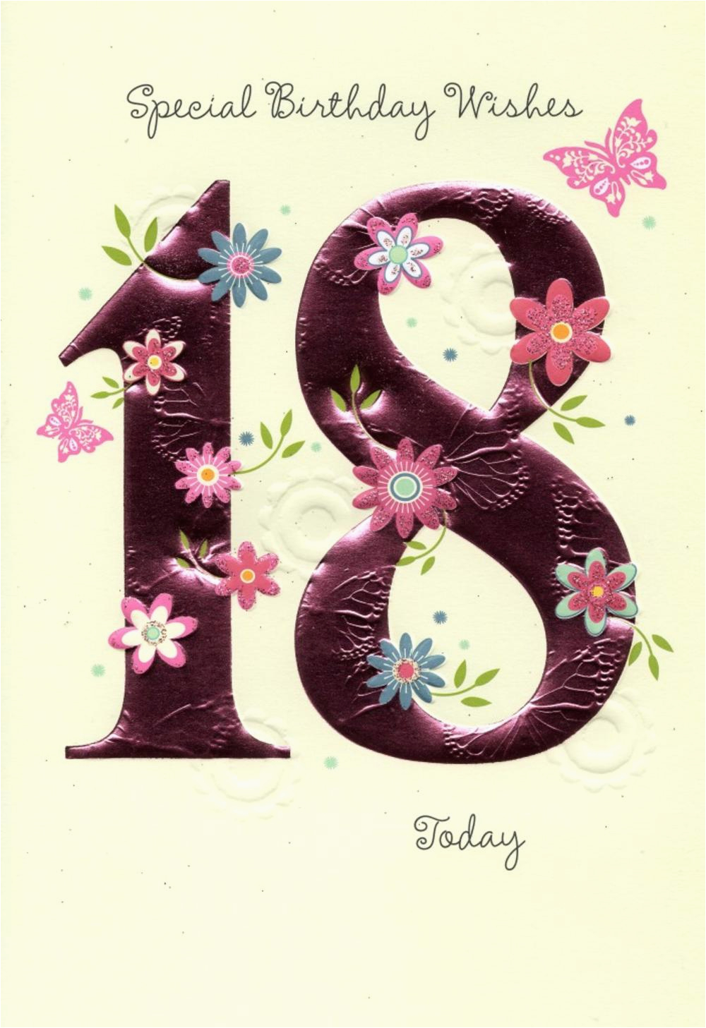 18th Birthday Cards For Girls Happy Greeting Card Love Kates