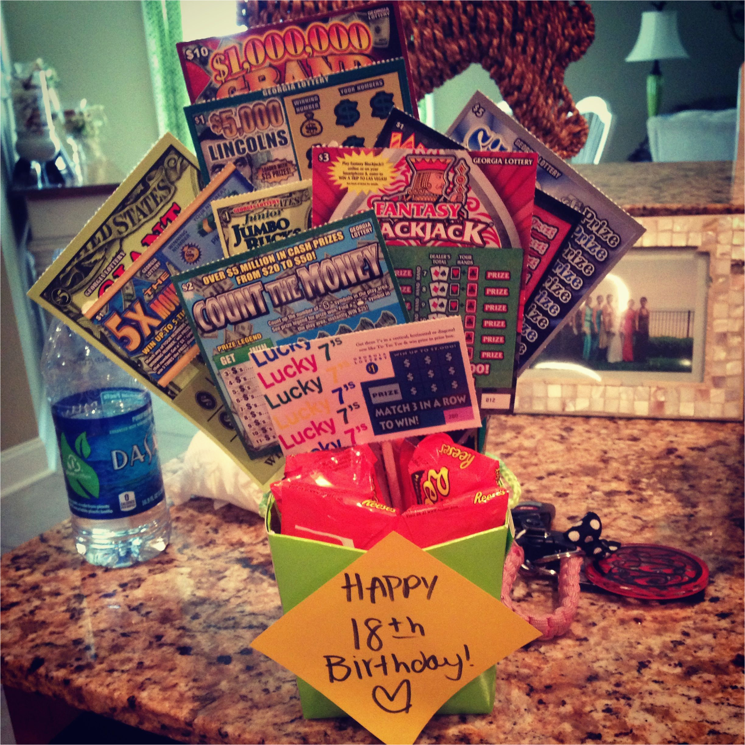 18th Birthday Gift Ideas For Her Scratchoffs Gifts Pinterest