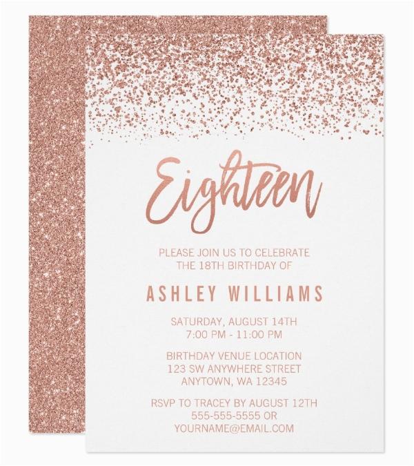 18th Birthday Invitation Templates Printable Free 13 18th Birthday Invitation Designs Templates Psd Ai