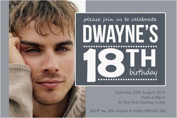 18th birthday invitations for boys google search 18th