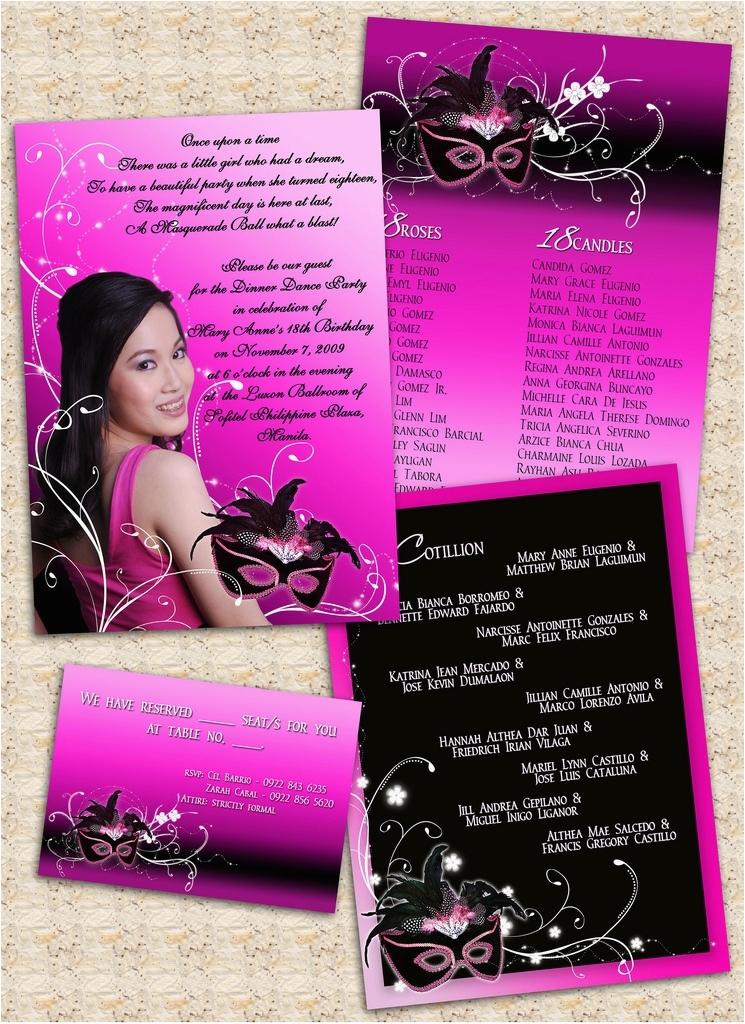 18th Birthday Party Invitation Ideas Card Sample Doyadoyasamos Com