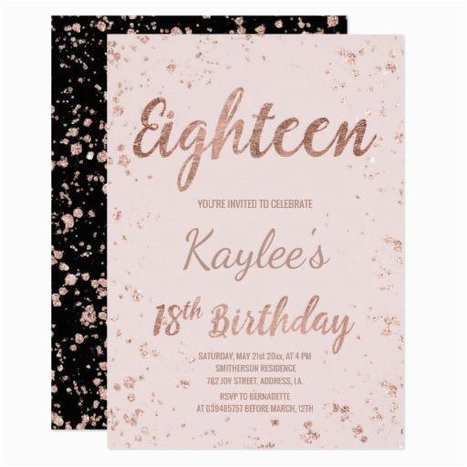 18th Birthday Party Invitation Ideas 438 Best 18th Birthday Party Invitations Images On