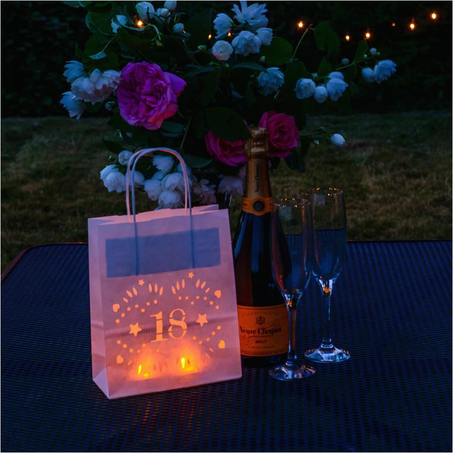 18th Birthday Table Decoration Ideas Paper Lantern By Baloolah Bunting