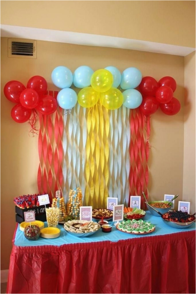 18th Birthday Party Table Decoration Ideas 30th Centerpiece