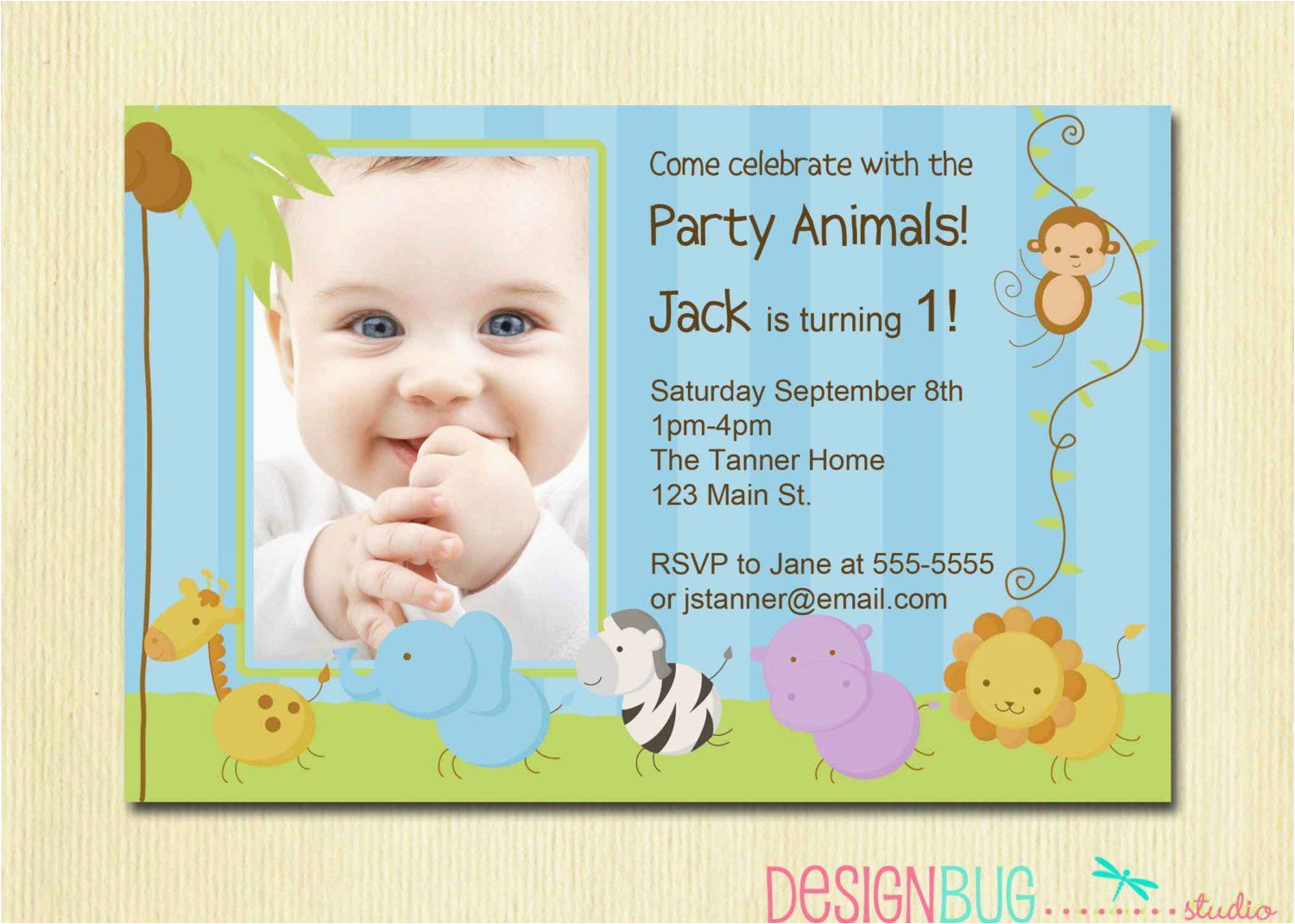 1st Birthday Invitation Card For Baby Boy Online Baptism Wording Invitations