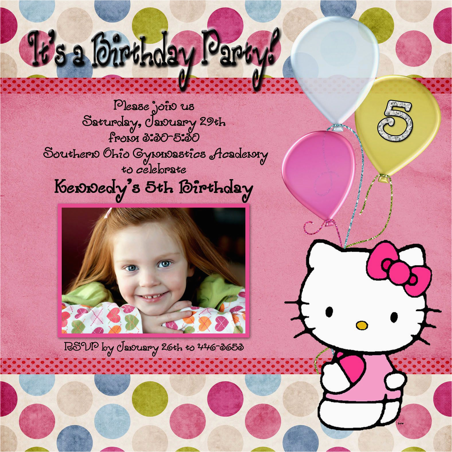 1st Birthday Invitation Maker Free Online