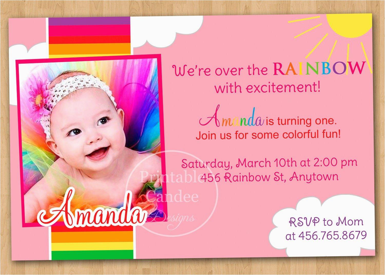 1st Birthday Invitation Maker Online 1st Birthday Invitation Cards