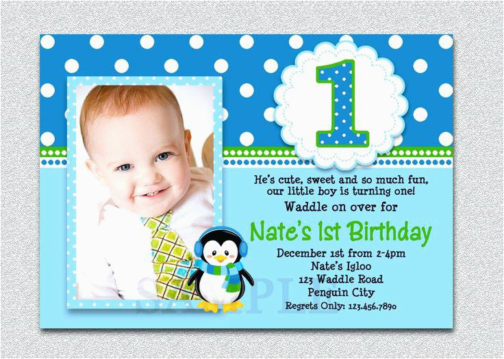 online 1st birthday invitation card maker with photo