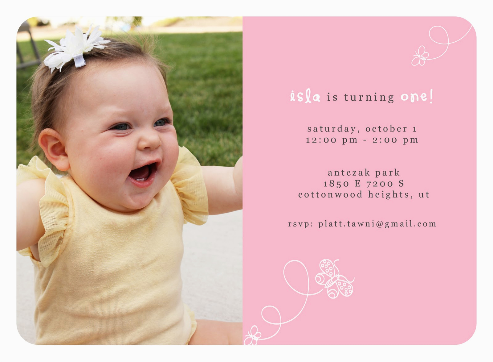 1st Birthday Invitation Message Samples Quotes For Invitations Quotesgram
