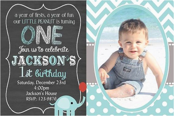 1st Birthday Invitation Wording For Baby Boy Invitations