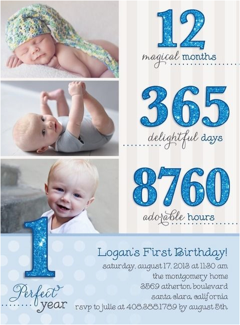 1st Birthday Invitation Wording For Baby Boy Birthdays Boys And On Pinterest
