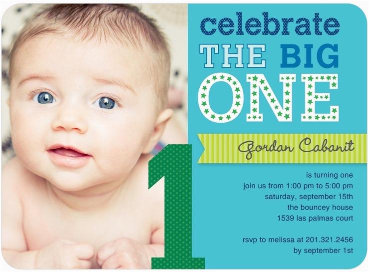 1st Birthday Invitations Boy Templates Free First Photo Bagvania Printable