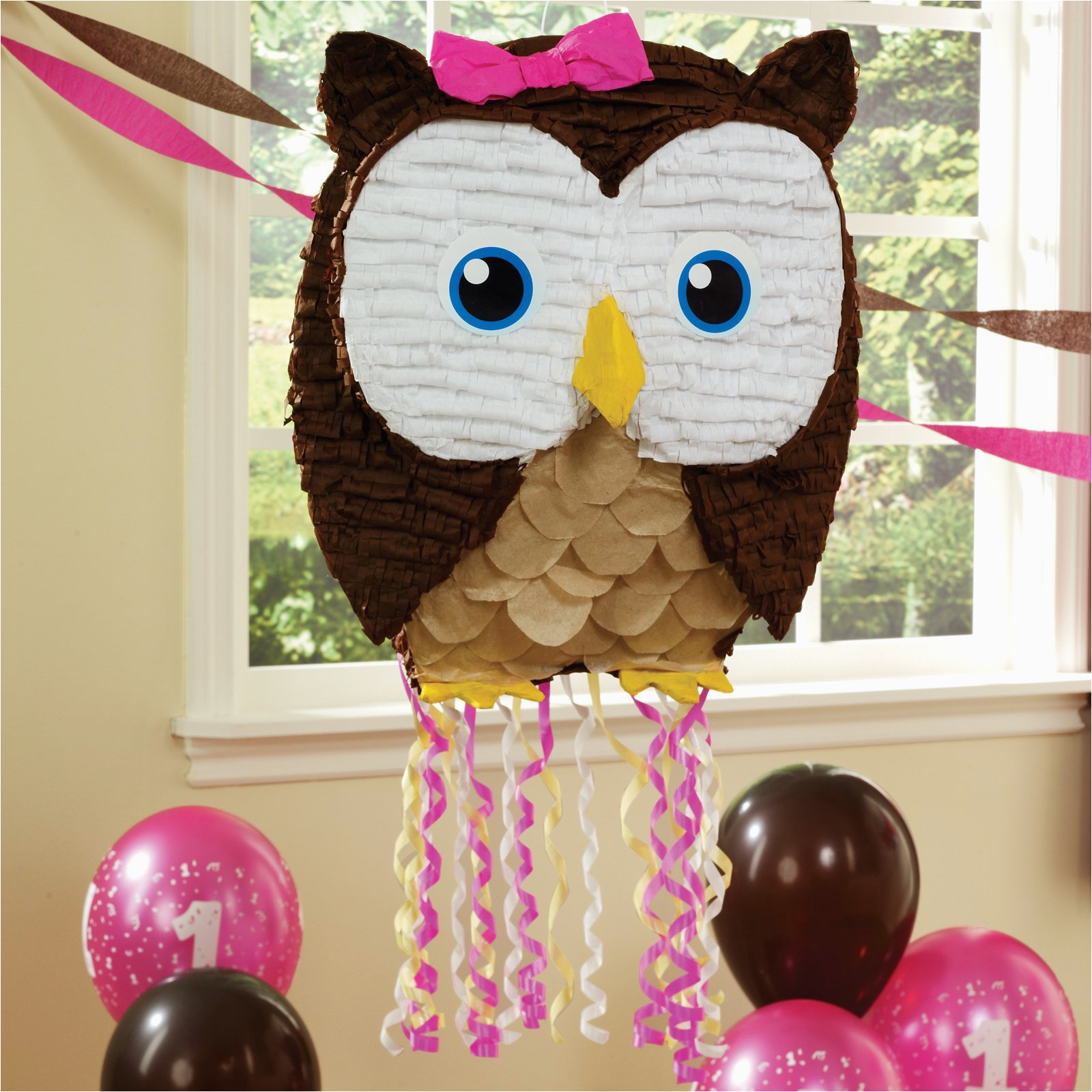 cute find owl pinata