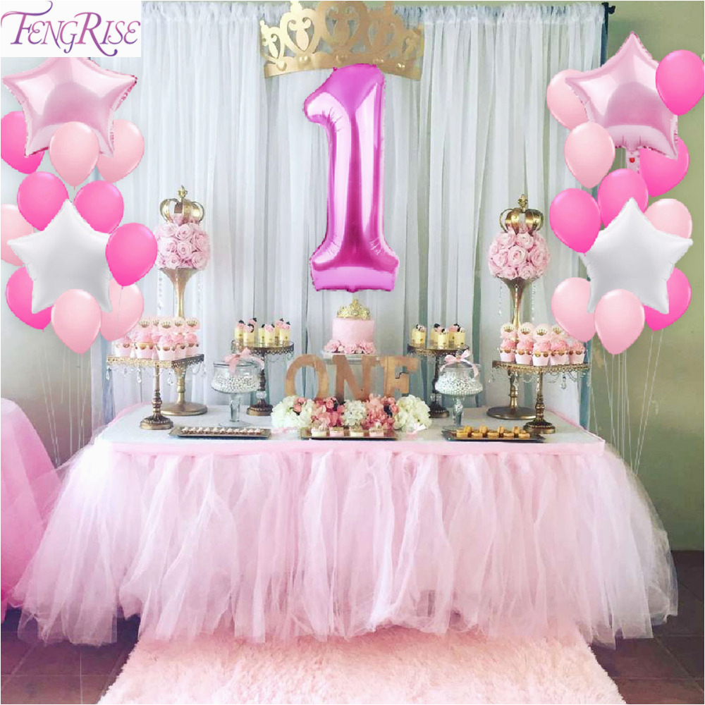 32847852656 Fengrise 1st Birthday Party Decoration Diy